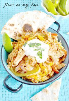 Quick Family Meals with Kraft Recipe Makers Tex-Mex Chicken Fajita  #shop #kraftrecipemakers #cbias Chicken Recipes