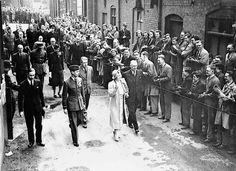 Jews being forcefully deported from Marsaille. Occupied France during WWII. Queen Mother, King George, Birmingham, Ephemera, Worlds Largest, Wwii, Street View, Image, British Monarchy