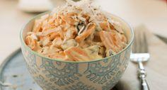 recetas de zanahorias o coco