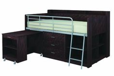 Rack Furniture Clairmont Loft Bed,Espresso