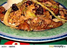 Čínská kuchyně: Maso dvou barev recept - TopRecepty.cz
