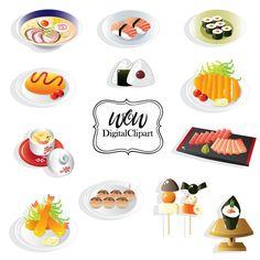 Breakfast Clipart Food clipart Dessert clipart Food clip art ...