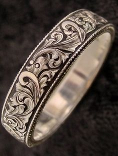 Cute Jewelry, Jewelry Art, Jewelry Rings, Jewelery, Silver Jewelry, Jewelry Accessories, Engraved Wedding Rings, Engraved Jewelry, Pandora Bracelets