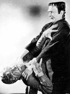 """""""Frankenstein Meets the Wolf Man"""""""