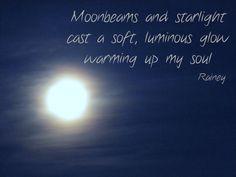 Moonbeam Haiku | Rainey Daze and Crazy Nights