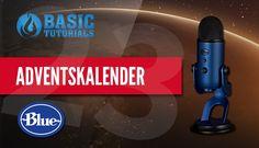 #Adventskalender: Blue Yeti Midnight Blue USB-Mikrofon #Gewinnspiel