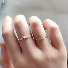 Sizes selling out! Cassiopeia Ring - Astro Muse Collection - The Songbird CollectionCassiopeia Ring - Astro Muse Collection - The Songbird Collection Rose Gold Engagement Ring, Diamond Wedding Rings, Vintage Engagement Rings, Wedding Band, Cute Rings, Unique Rings, Simple Rings, Cheap Rings, Delicate Rings