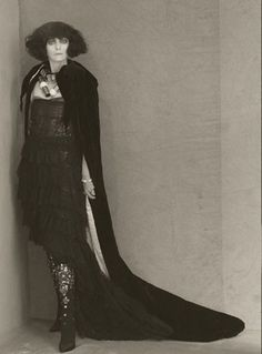 Tilda Swinton as Asta Nielsen.