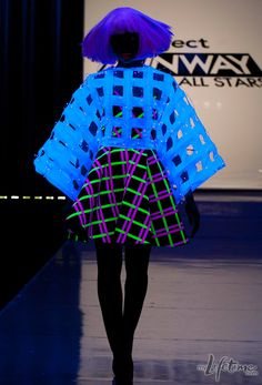 Kenley's runway look from episode 9 of Project Runway All Stars #Fashion