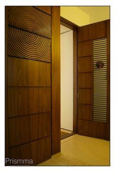 Main wooden door
