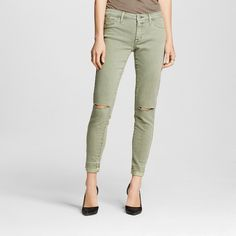 Women's Mid-rise Jegging Olive
