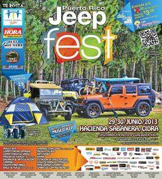 Puerto Rico Jeep Fest 2013 @ Hacienda Sabanera, Cidra