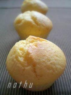 バターを使わないので軽~いマフィンです。これを押さえておけばアレンジ無限大です♫♬