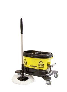 CycloMop® Commercial Spin Mop with Dolly Wheels   $129 w/ free shipping