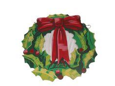 Christmas Wreath Flat 3'x3'