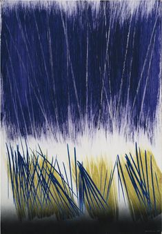 P1970-A12, 1970 by Hans Hartung