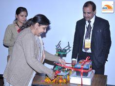 AVAS launched EDU-ROBOTICS, inaugurated by Dr Sunita S kaushik, at event organized by AVAS india
