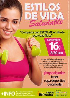 @Escolmeeduco ¡Comparte con ESCOLME un día de actividad física!