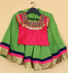 Baby Girl Frocks, Frocks For Girls, Kids Frocks, Little Girl Dresses, Baby Dresses, Baby Lehenga, Kids Lehenga Choli, Kids Lehanga, Ghagra Choli
