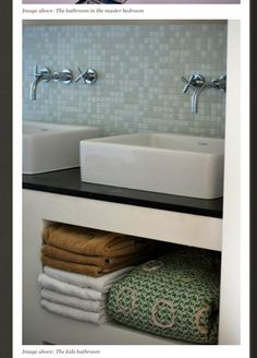 shelving under sinks