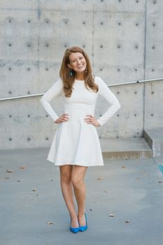 WEDDING WEDNESDAY: FOUR LITTLE WHITE DRESSES FOR ALL YOUR WEDDING EVENTS - Design Darling