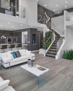 House Design, Room Design, House, Modern House, Trendy Living Rooms, House Interior, Home Interior Design, Interior Design, Living Room Designs