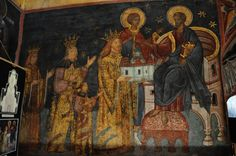 Orthodoxy in pictures Mural Painting, Paintings, Eastern Europe, Ancient Art, Medieval, Pictures, Portraits, Icons, Costumes
