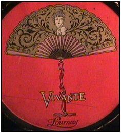~Extremely Rare Vintage Lournay Vivante Powder Tin~