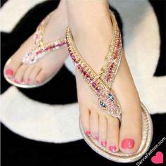 Zapatos de mujer - Womens shoes - WAUUU QUE LINDAS SANDALIA PARA AHORITA PARA EL VERANO