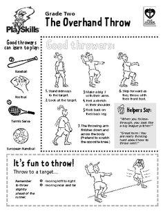 Overhand throw: Overhand throw