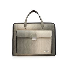 Limited Edition Associate Brief - The Kazmok collection of briefcases and bags are made of the most unexpected material...recycled industrial conveyor belt.
