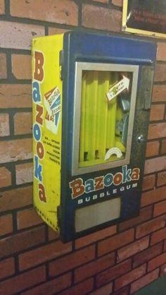 Museum Terug in de tijd in Horst, Bazooka gum machine
