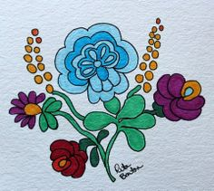 Rita Barton: Latest Hungarian Folk Art Doodles