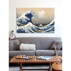 The Great Wave at Kanagawa 1829