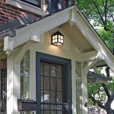 Ideas Exterior House Wall Porches For 2019 Front Porch Design, Garage Door Design, Porch Designs, Garage Doors, Front Porches, Roof Design, Exterior Design, House Design, Exterior Signage
