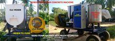 CLC Foam Concrete Machines, light weight bricks plant, cellular light weight bricks plant, clc foam generator