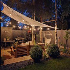 Top Diy Backyard Design Ideas For This Summer 36 Gazebo Canopy, Garden Canopy, Backyard Pergola, Backyard Landscaping, Pergola Ideas, Design Jardin, Covered Garden, Budget Home Decorating, Outdoor Living