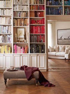 Paletas de colores con libros