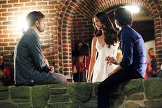 "Alaric Elena and Damon ""The Birthday"""
