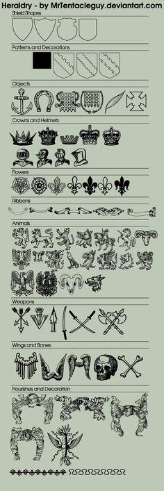Free use Heraldry art