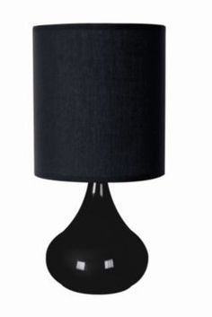 Buy Home Essence Zenith 60W Touch Lamp in Black from our Table Lamps range - Tesco.com