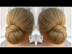 Luxurious bridal hairstyle: Modern hair updo for br - Luxurious bridal hairstyle: Modern hair updo for br - High Bun Hairstyles, Modern Hairstyles, Trending Hairstyles, Cute Hairstyles, Different Hairstyles, Chignon Hair, Prom Hair Updo, Bridal Hairstyle, Medium Hair Styles