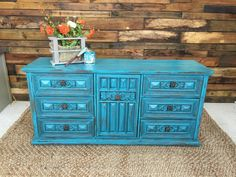 DIY painted dresser from Rethunk Junk