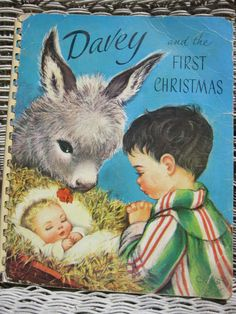"""Vintage 1950's """"Davey and the First Christmas"""""""