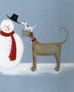 HouzDeco – Interior Design and Home Decor Ideas Christmas Pictures, Winter Christmas, Holiday, Winter Illustration, Organic Art, Frosty The Snowmen, Christmas Paintings, Naive Art, Art Themes