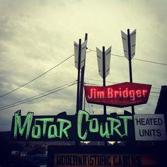 Jim Bridger Motor Court - Montana