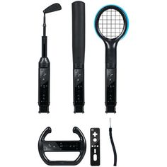 Cta Digital Nintendo Wii Grand Slam 6-in-1 Sports Pack (black)