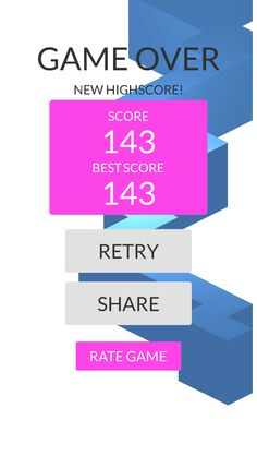 OMG!Imade 143 zigzags playing #ZigZag https://itunes.apple.com/app/id951364656