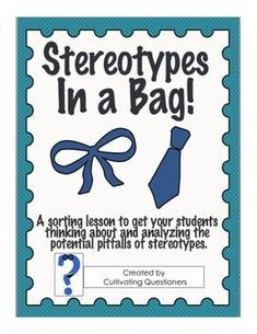 issues created by using stereotypes in Stereotypes are an ingrained feature of american society and  to degrade  others as a means of accentuating our own humanity  order: the issue is not  whether specific stereo- types are  about the portrait that you have created may  seem.
