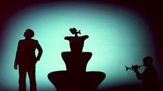 Shadow theatre Fireflies Love story
